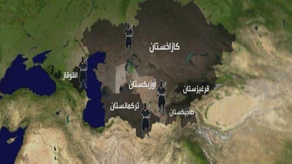 خريطة آسيا الوسطى