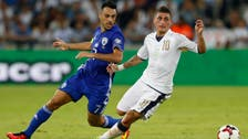 Ten-man Italy battle to 3-1 win over Israel