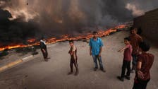 Iraq puts out more oil fires at northern field left by ISIS