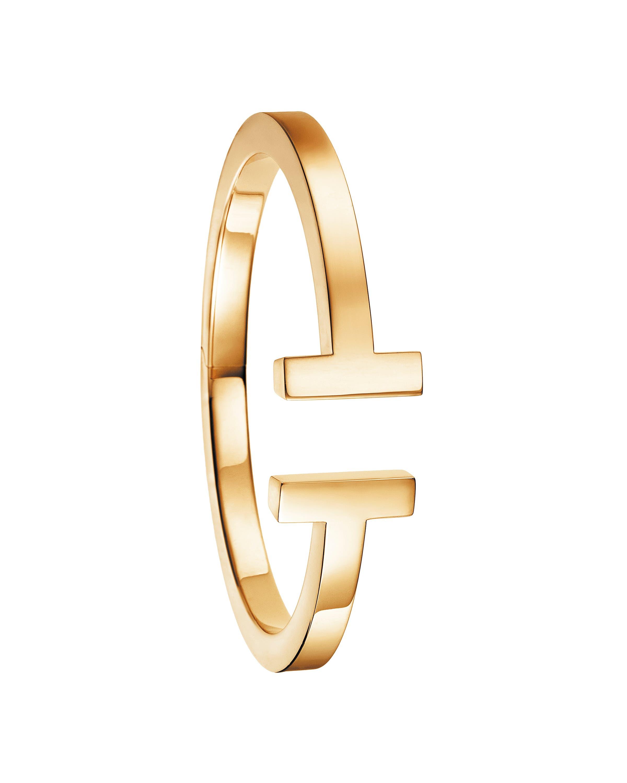 سوار تيفاني تي مصنوع من الذهب الأصفر