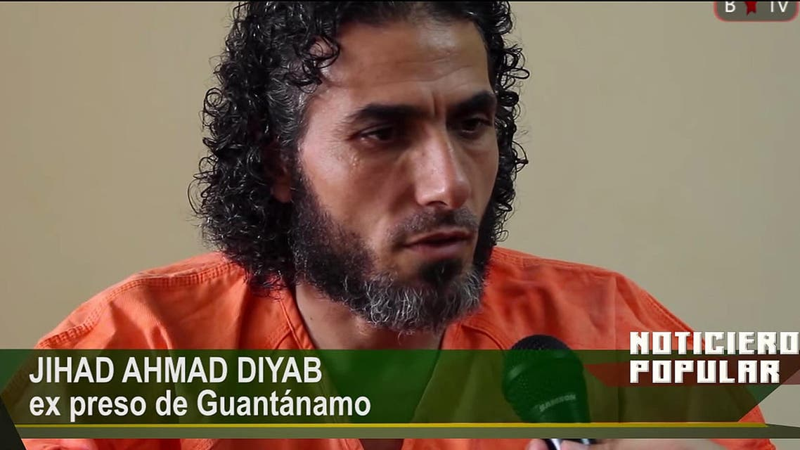 Dhiab, a Syrian, went missing from Uruguay for several weeks earlier this year. (AP)