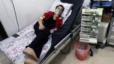 Suspected Aleppo chlorine attack chokes dozens
