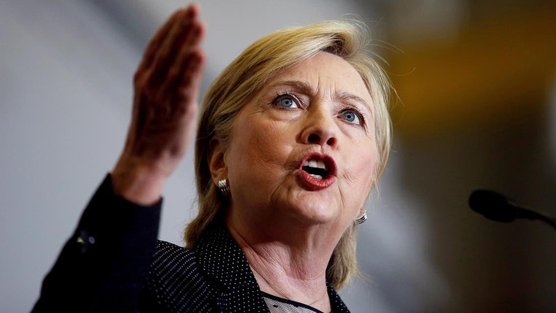 U.S. Democratic presidential nominee Hillary Clinton speaks at Futuramic Tool & Engineering in Warren, Michigan August 11, 2016. REUTERS