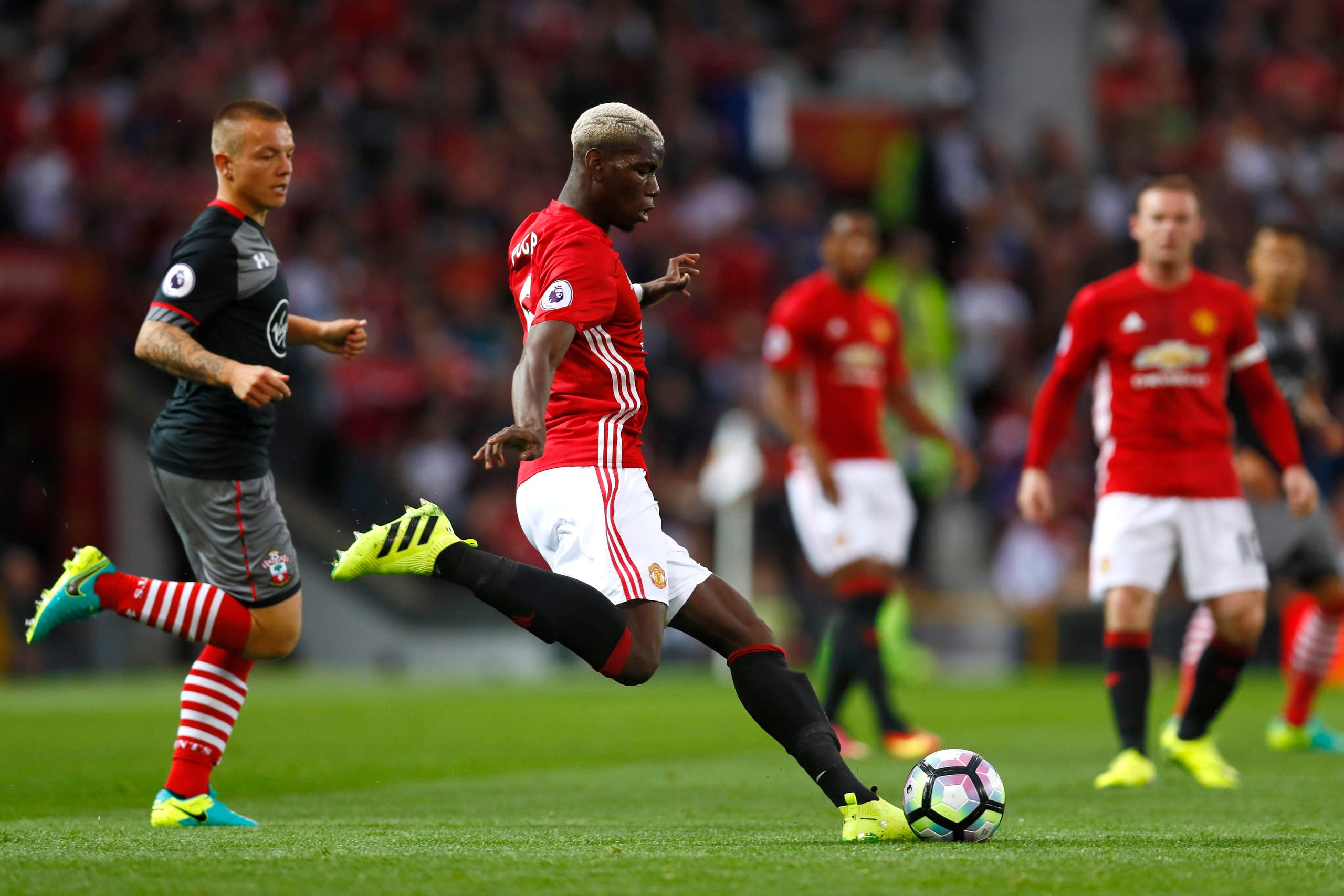 Manchester United's Paul Pogba in action Action Images via Reuters