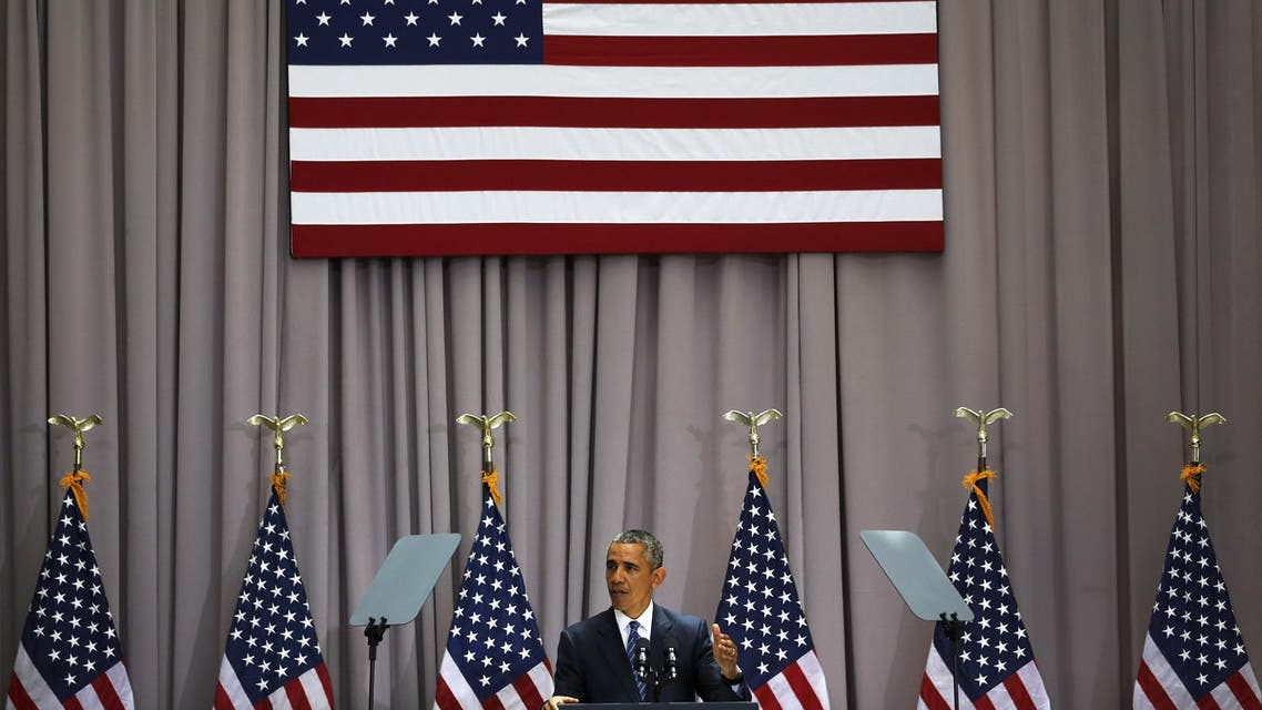 US President Barack Obama delivers remarks on nuclear deal with Iran at American University in Washington August 5, 2015. (File photo: Reuters)