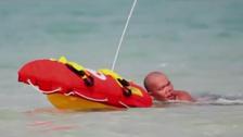 آخر إبداعات دبي..روبوت آلي لإنقاذ رواد الشواطئ من الغرق