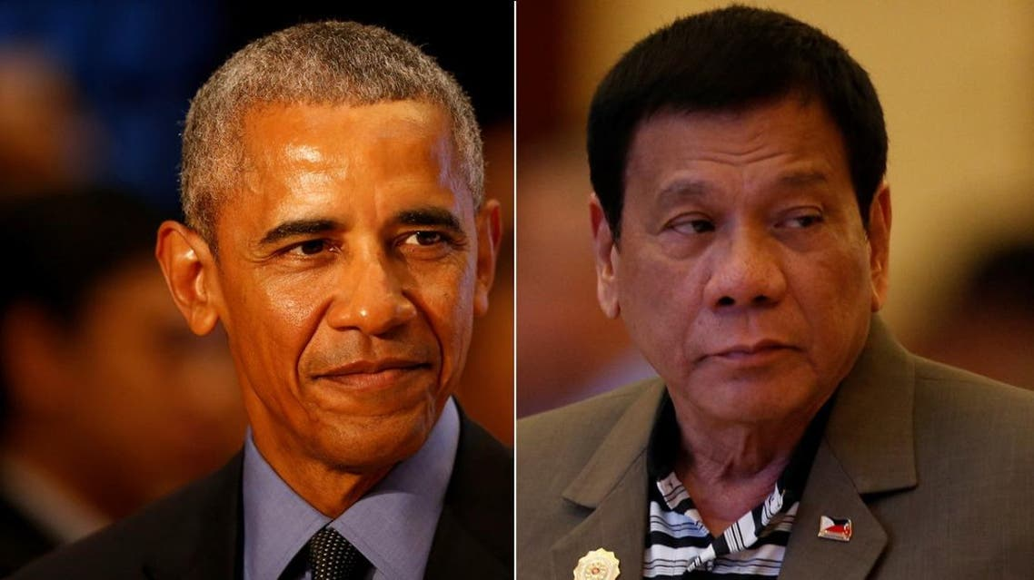 The brief meeting took a little sting out of the soured relations caused by Duterte's intemperate language in referring to Obama earlier this week. (Reuters)