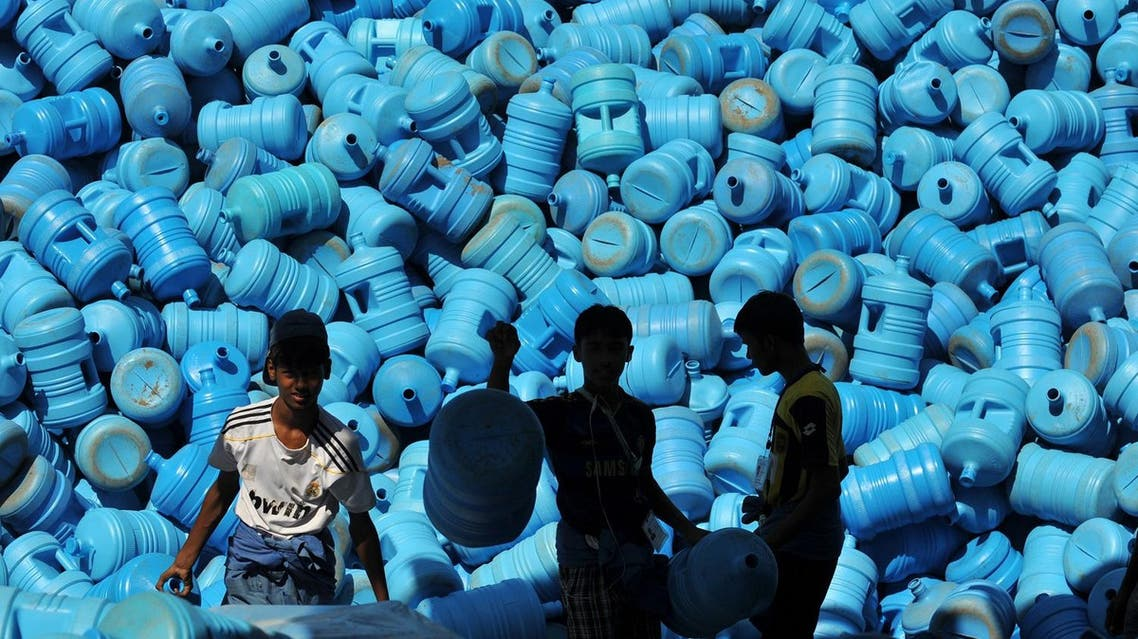 According to Islamic belief, zamzam is a miraculously-generated source of water from God, which began thousands of years ago when Abraham's infant son Ishmael was thirsty and crying for water when it discovered a well by kicking the ground. (AFP)