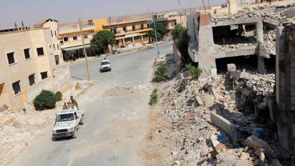 من جرابلس شمال سوريا