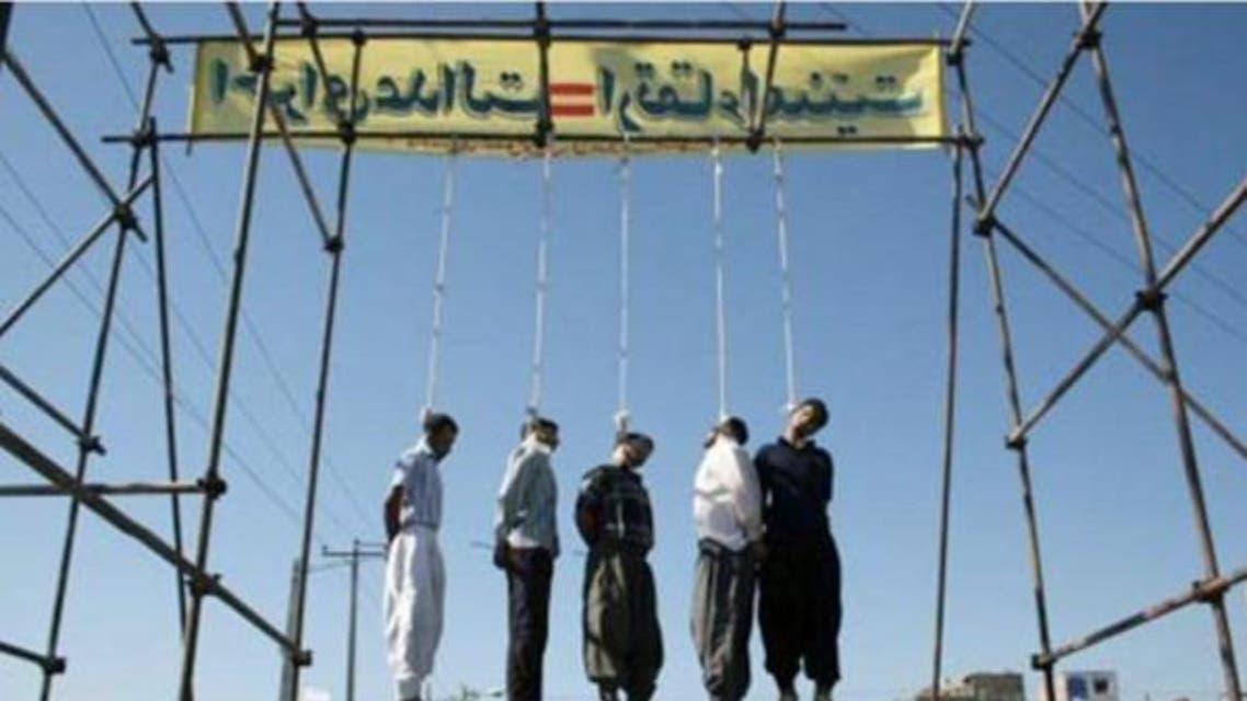 ایران،پھانسیاں