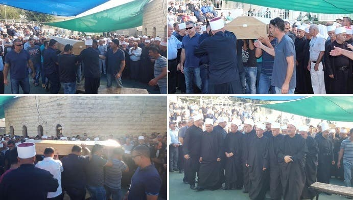 صور من موقع رادار لتشييع القتيل والحزن على رحيله