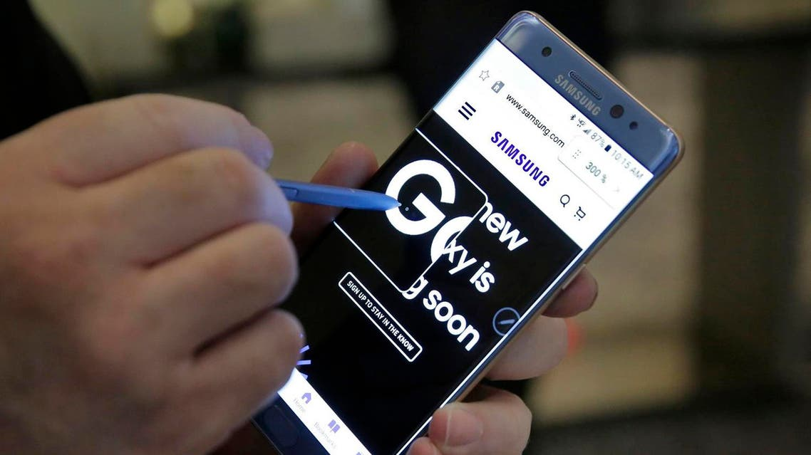 Samsung ordered a global recall of the jumbo phones after its investigation of explosion reports found the rechargeable lithium batteries were at fault. (AP)