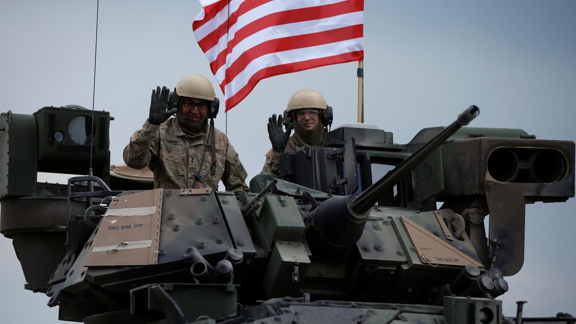 The number of US troops in the country have grown from about 4,000 a week ago to 4,460 today. (Reuters)