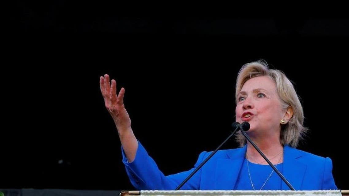 Clinton, who has said she is the candidate who can unify a divided country, made the comment at an LGBT fundraiser Friday night at a New York City restaurant, with about 1,000 people in attendance (Photo: Reuters)