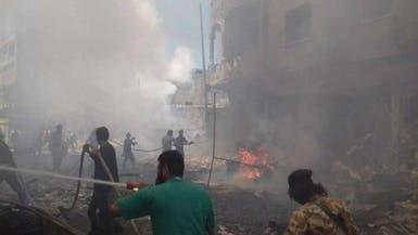قصف روسي وقنابل عنقودية على جنوب إدلب