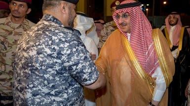 محمد بن نايف في منى لمتابعة أداء مناسك الحج