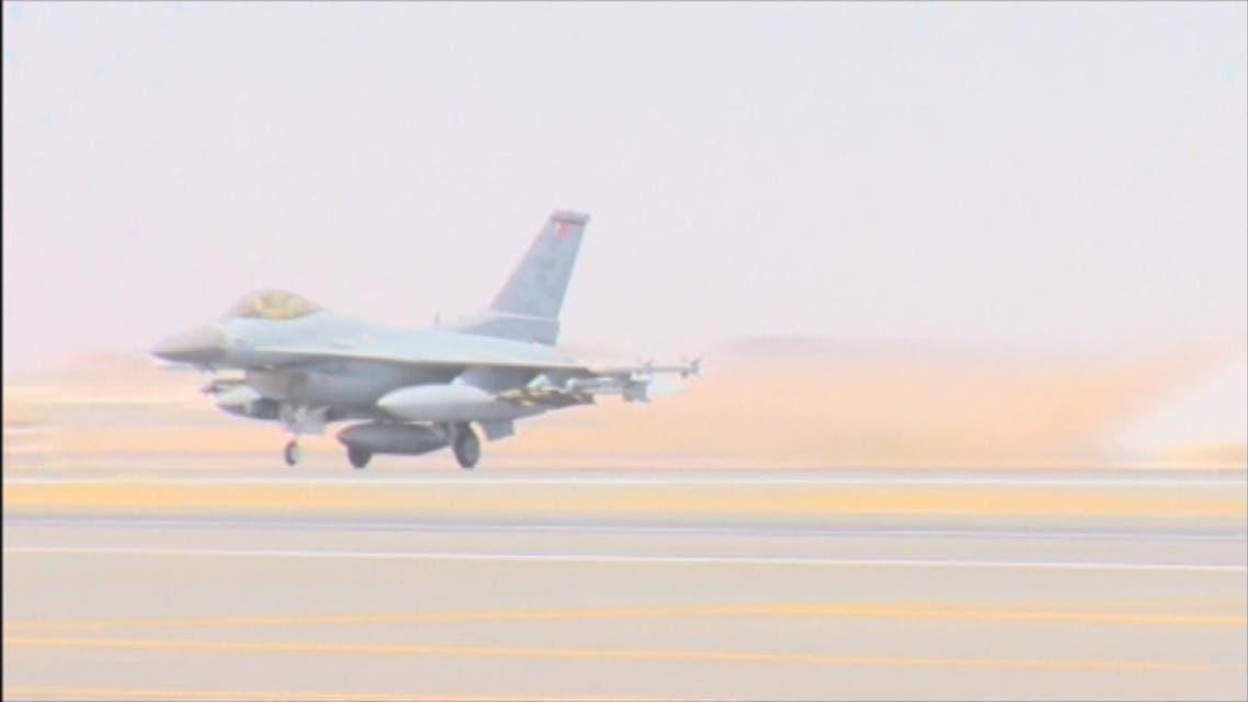 THUMBNAIL_ طيران التحالف يهاجم مواقع الحوثيين جنوب تعز