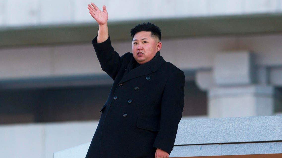 New North Korean leader Kim Jong Un waves at Kumsusan Memorial Palace in Pyongyang. (File Photo: AP)