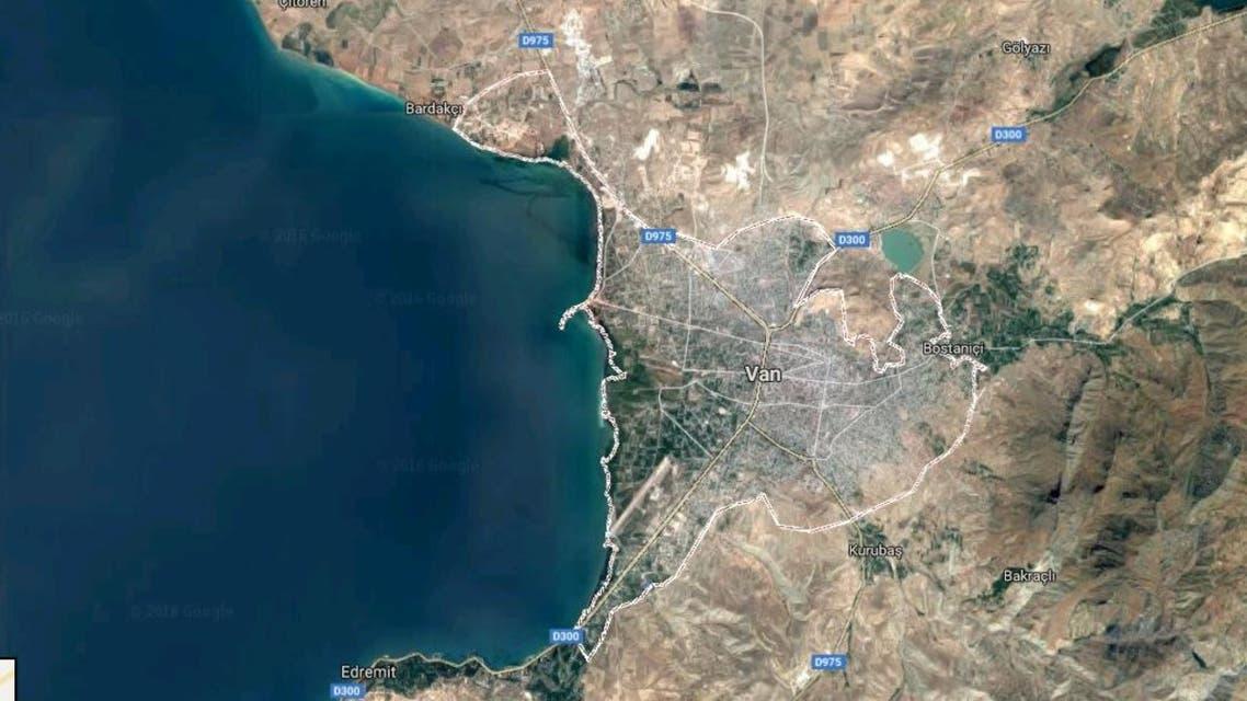 Van Turkey Google Maps