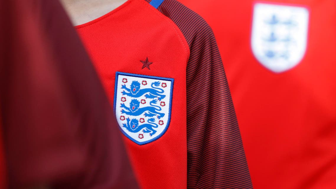 General view of the England badge Action Images via Reuters