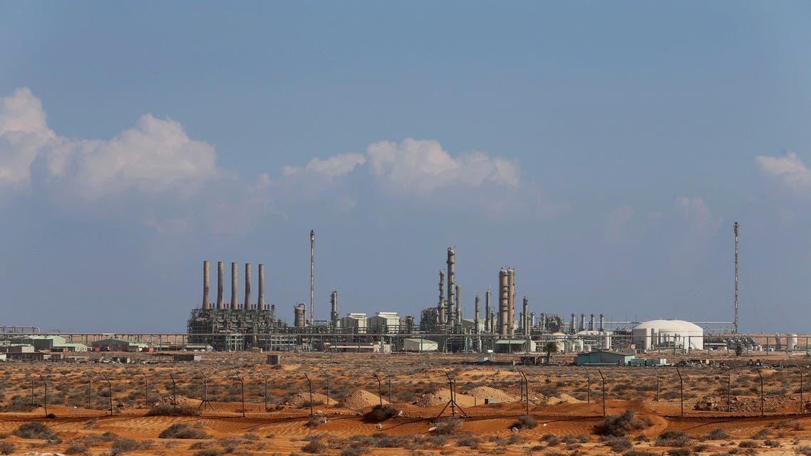 ميناء راس لانوف النفطي في ليبيا نفط رويترز