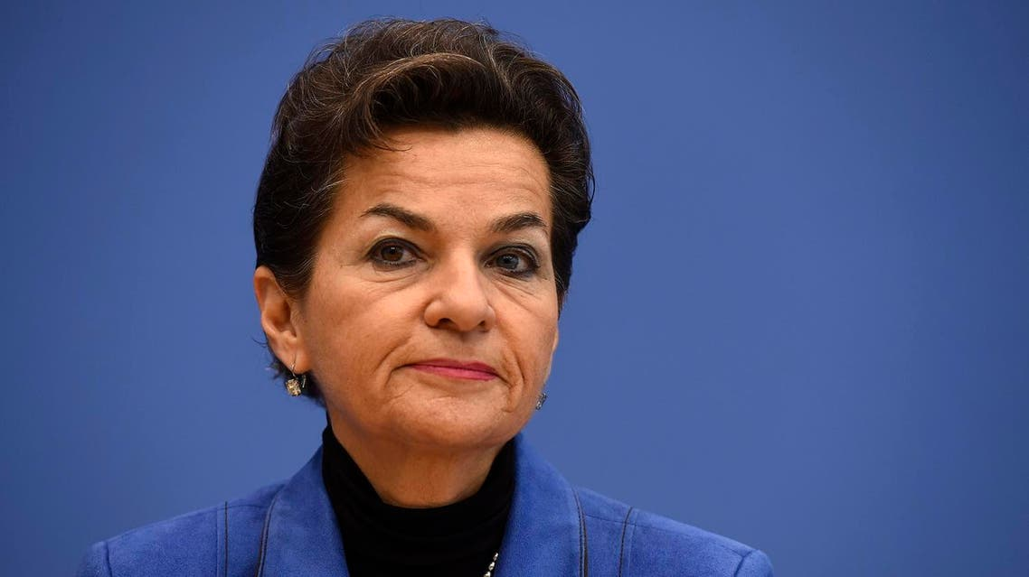 Figueres, who threw her hat in the ring in July, headed the negotiations that led to the historic 2015 Paris Agreement on climate change. (AFP)