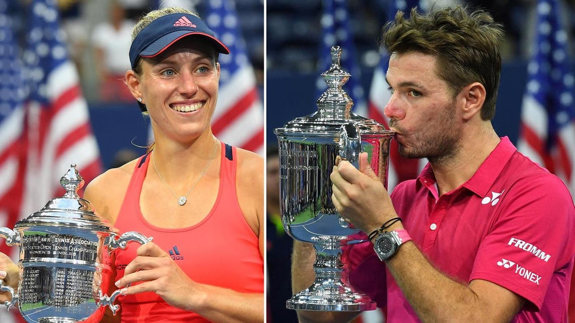 Germany's Angelique Kerber and Switzerland's Stan Wawrinka were the last two standing in their respective draws. (Reuters)