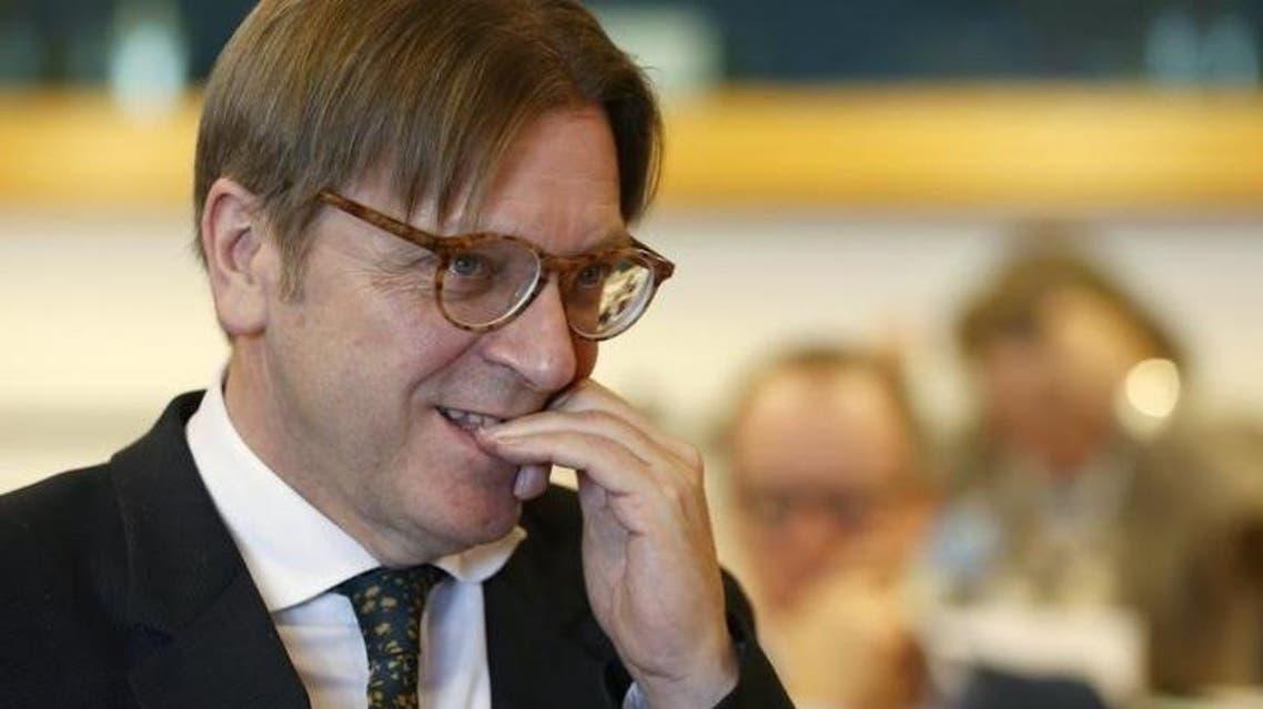 European Parliament's chief Brexit negotiator Guy Verhofstadt (File Photo: Reuters/Francois Lenoir)
