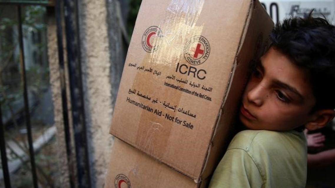 المساعدات حلب