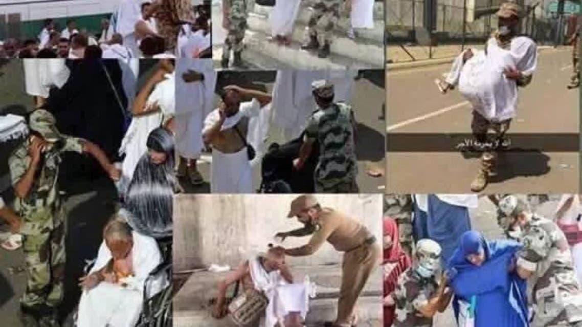 الأمن السعودي والحجاج