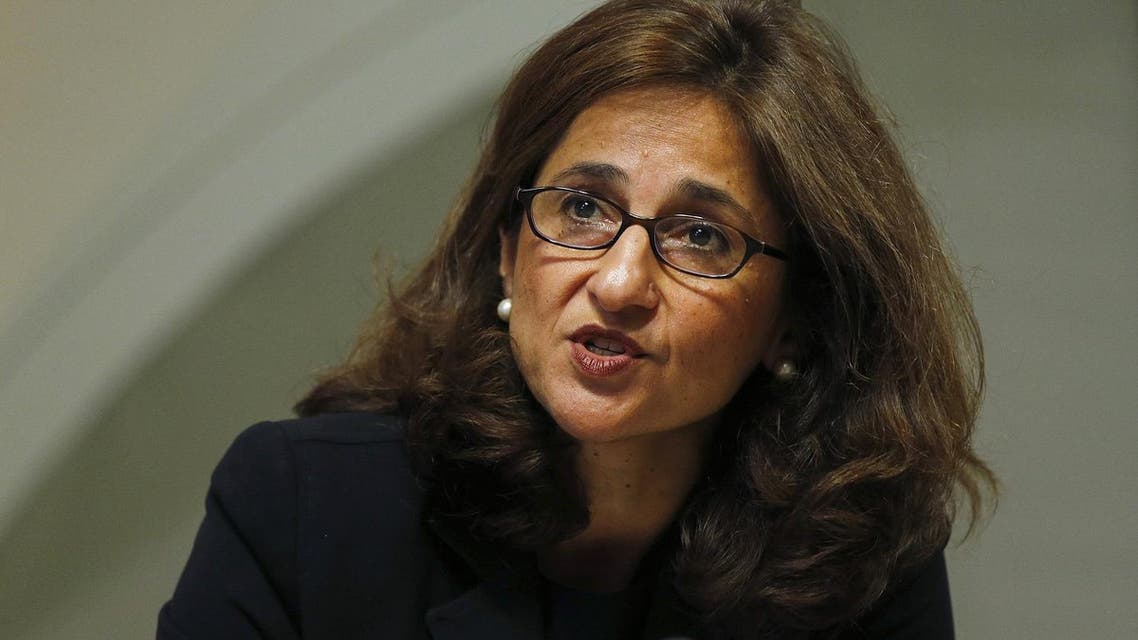 Bank of England Deputy Governor Minouche Shafik speaks during the bank's quarterly inflation report news conference at the Bank of England in London August 13, 2014. REUTERS/Suzanne Plunkett/File Photo