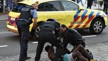 Far-right group, asylum-seekers fight in German town