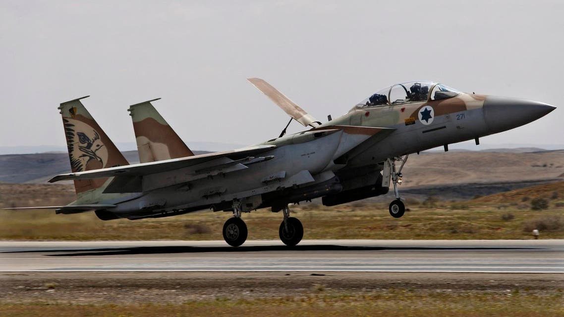 An Israeli F15i takes off. (AP)
