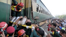 Pakistan train crash kills at least six, injures more than 150