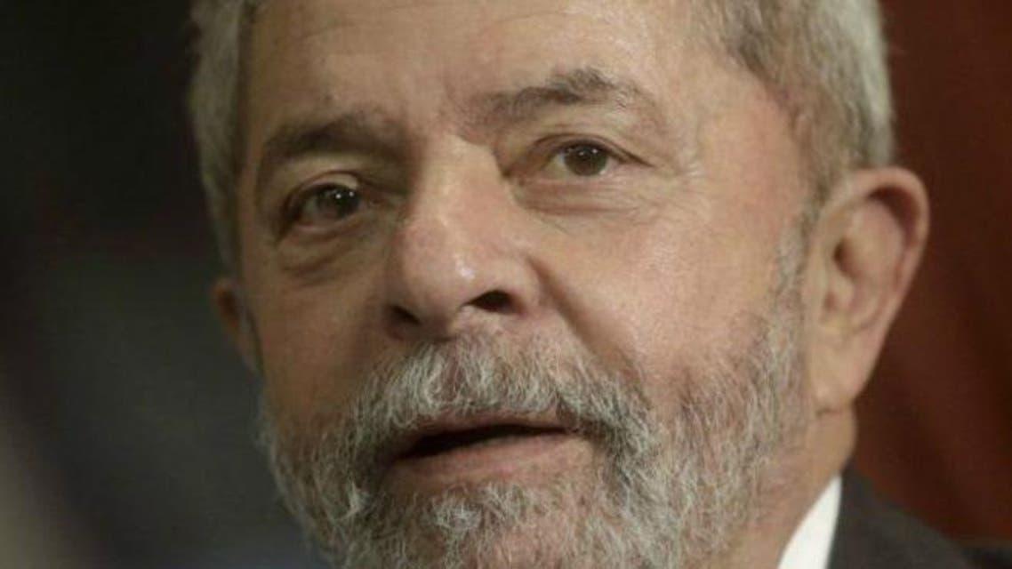 الرئيس البرازيلي السابق لويس ايناسيو لولا دا سيلفا