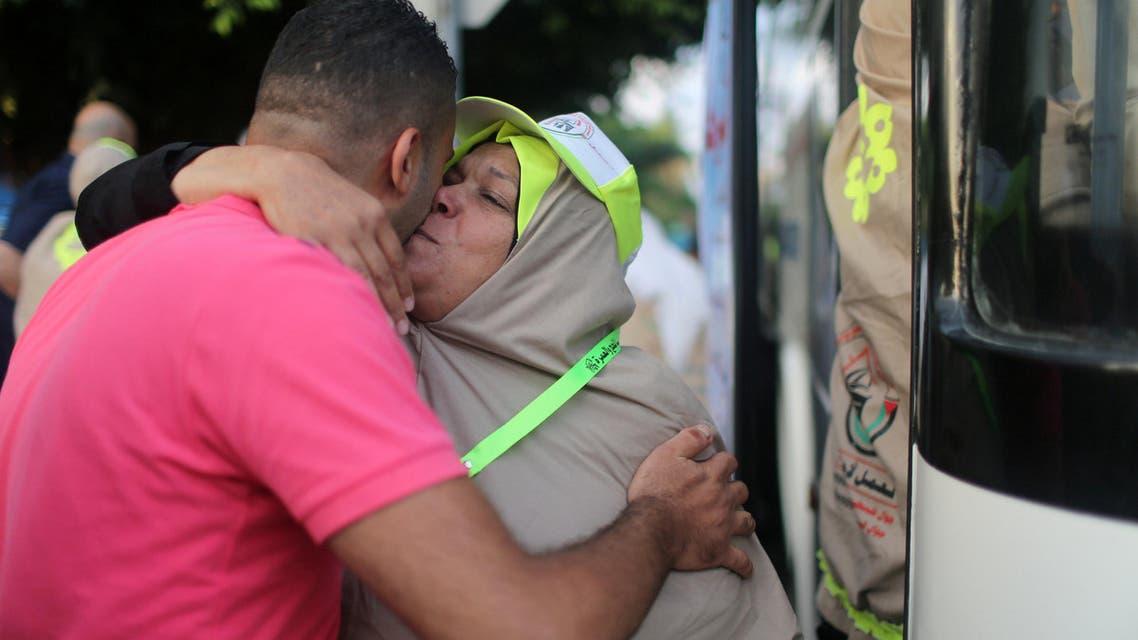 Saudi Arabia's King Salman hosted 1,000 family members of Palestinian martyrs. (File photo: AP)