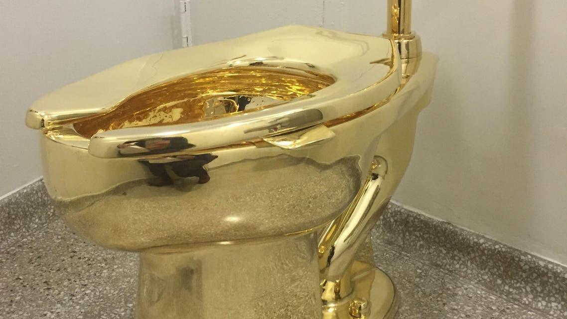 Guggenheim golden toilet AFP