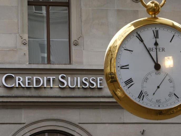 محادثات لدمج بنك UBS مع Credit Suisse