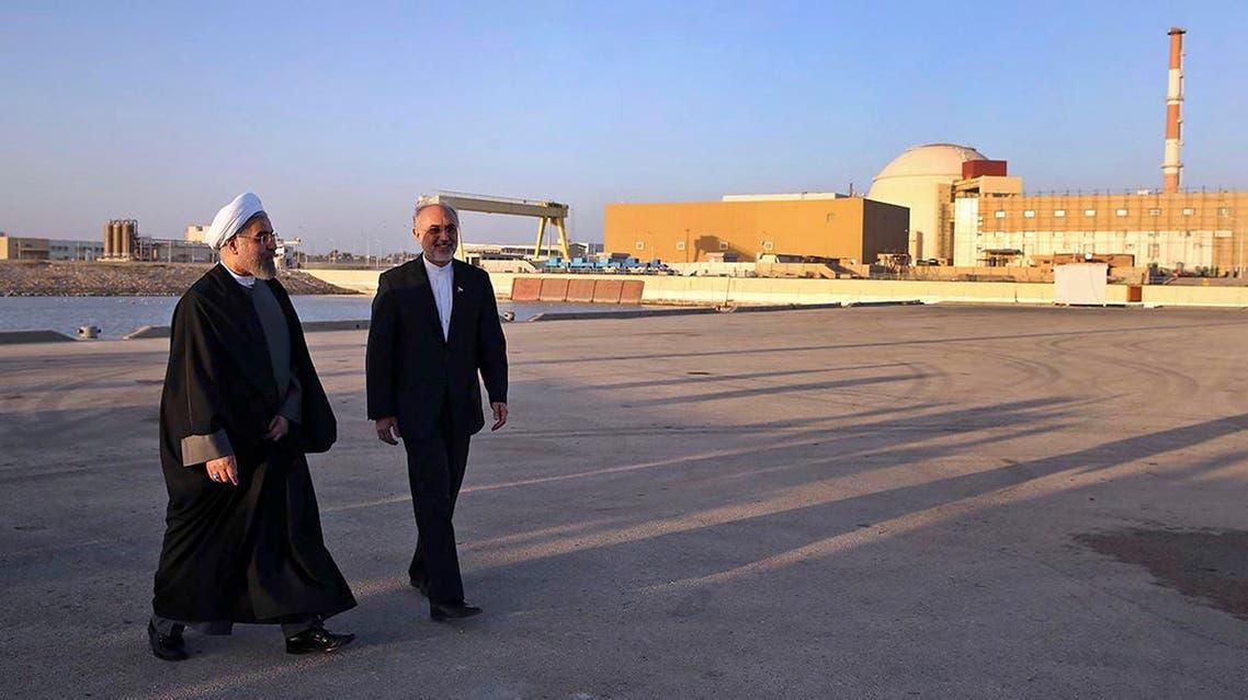 Bushehr nuclear power plan AP