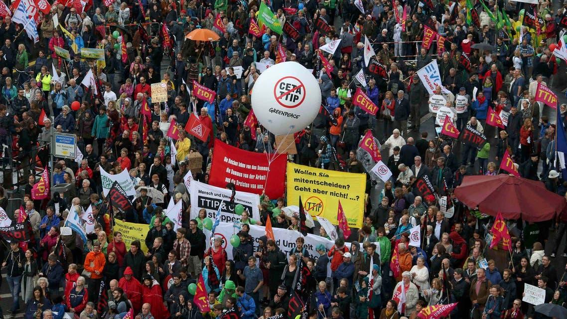 تظاهران برلين