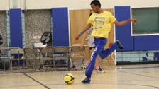Soccer helps young refugees take a shot at new life in the US