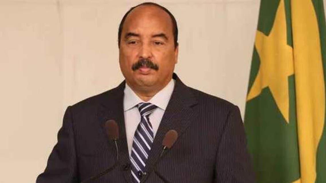 الرئيس الموريتاني ولد عبد العزيز