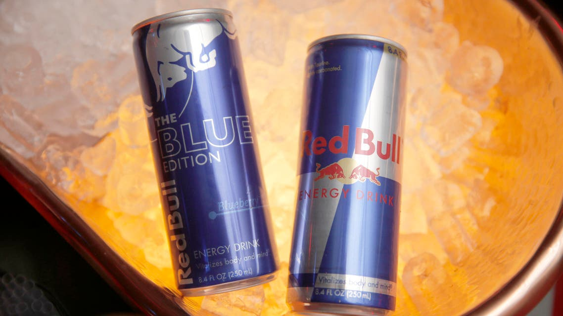 Red Bull cans. (AP)