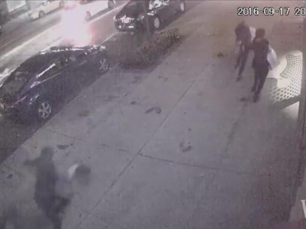 بالفيديو.. ذعر وهلع يصيب مارة لحظة تفجير نيويورك