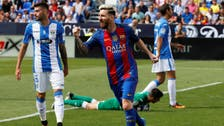 Barca win easily at Leganes, Atletico thrash Sporting