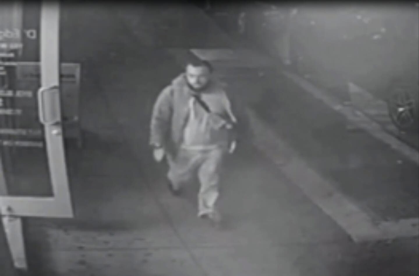 This frame from surveillance video released by the New Jersey State Police shows Ahmad Khan Rahami. (AP)