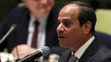 السيسي للمصريين: اخترتم مسار التنمية وتجنبتم التخريب