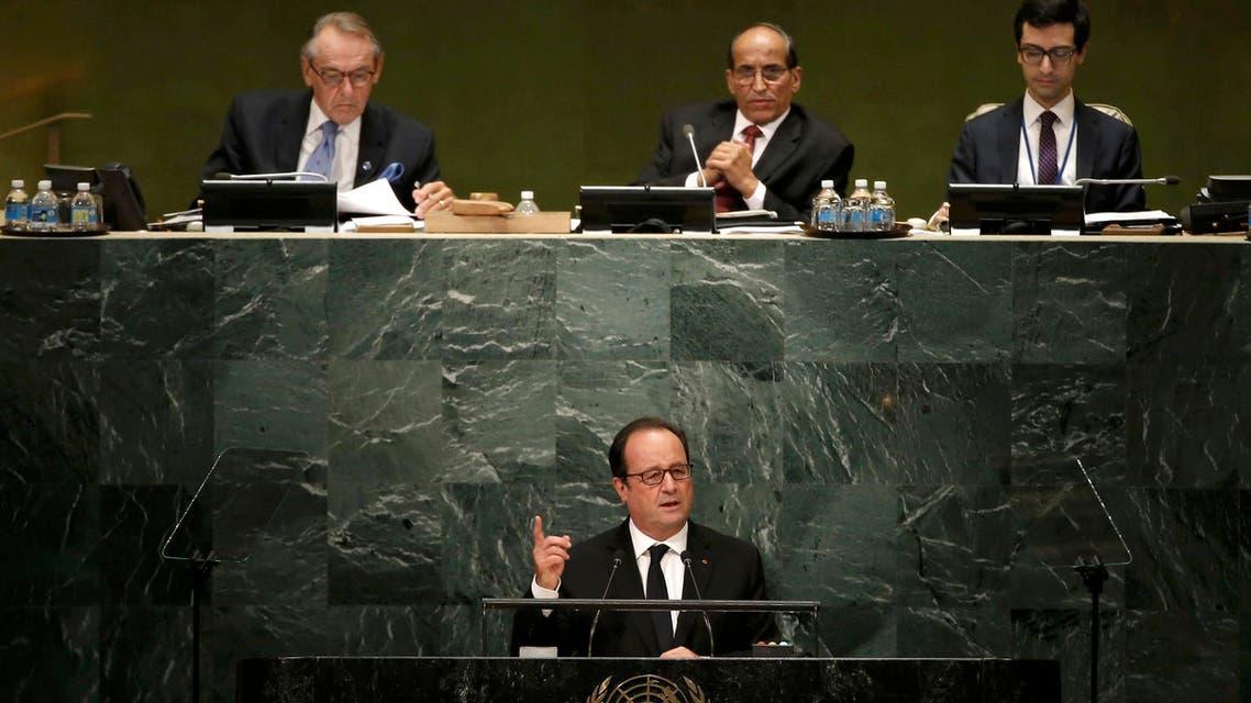 هولاند الأمم المتحدة