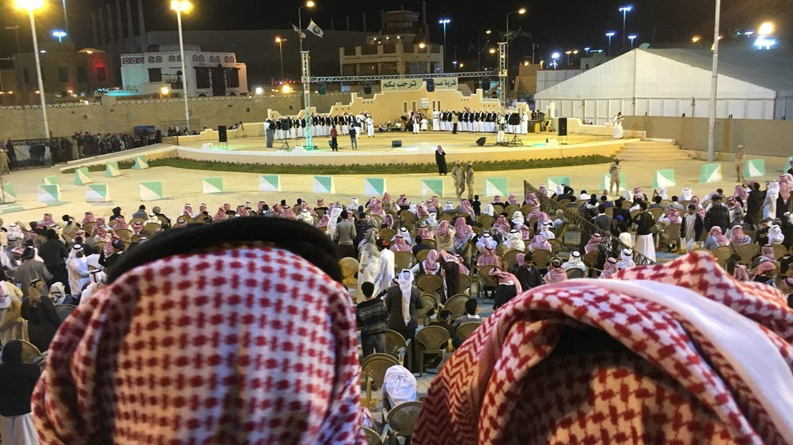 A performance at Jenadriyah, the annual cultural festival held outside of Riyadh.