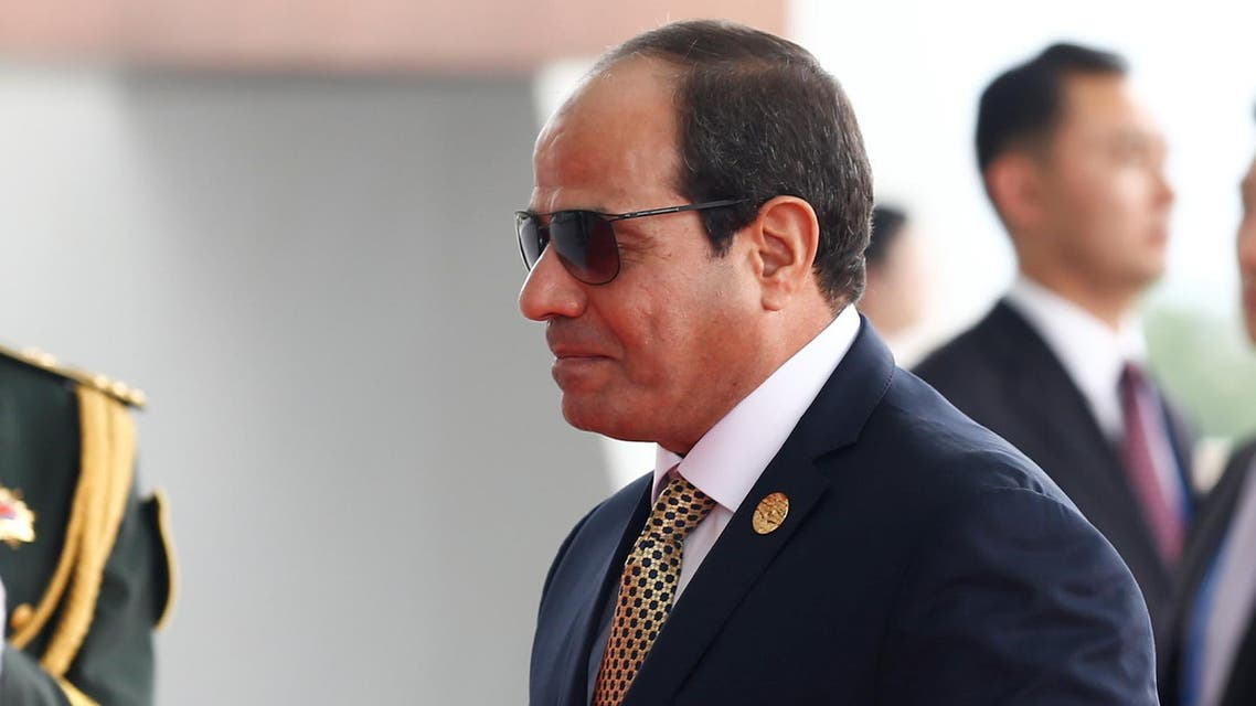 Egyptian President Abdel Fattah el-Sisi arrives to attend the G20 Summit in Hangzhou, Zhejiang province, China, September 4, 2016. Reuters